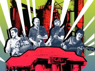 LUNAR MANSIONS band pic color